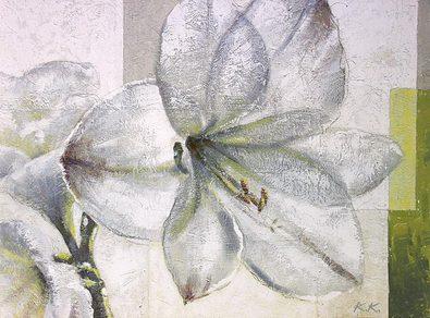 Karsten Kirchner 4er Set 'Gracious White' + 'Warm Hearted' + 'White Embrace' + 'Standing White'