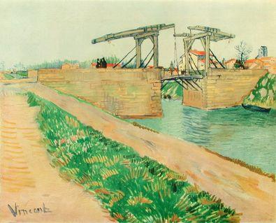 Vincent van Gogh Die Zugbruecke