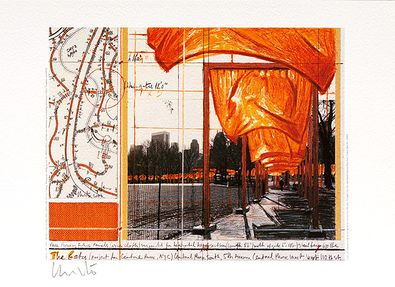 Christo und Jeanne-Claude The Gates XV