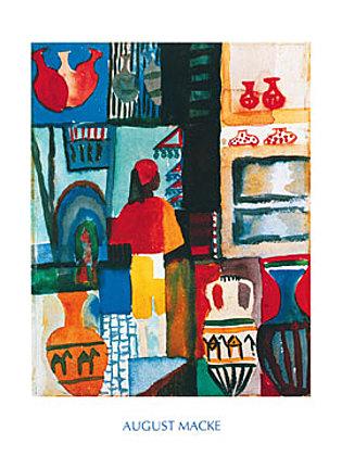 August Macke Merchant with Jugs