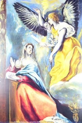 Domenico El Greco Verkuendigung