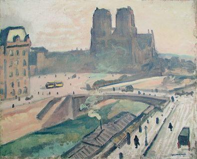 Albert Marquet Notre Dame  Paris