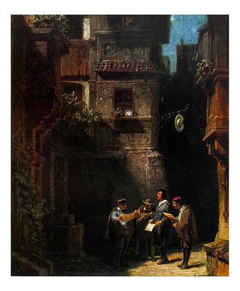 Carl Spitzweg Nachtstaendchen