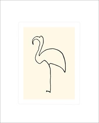 Pablo Picasso Flamingo