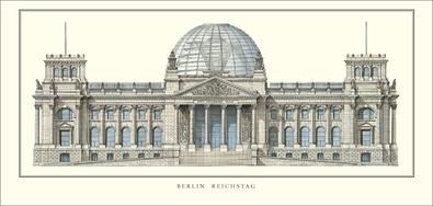 Wallot Foster Berlin, Reichstag