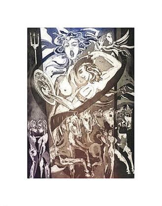 Alfred Gockel Griechische Mythologie Medusa