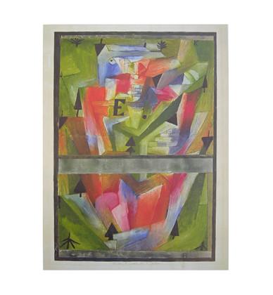 Paul Klee Landschaft bei E
