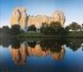 Christo und Jeanne-Claude Reichstag Schiffbauer Damm, handsigniert