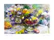 Jeanne Coolen-Luyten Schale mit Obst