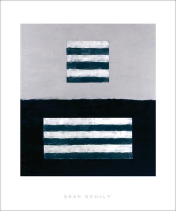 Sean Scully Landeline blue, 1999