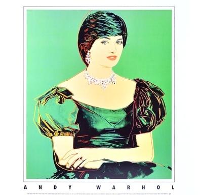 Andy Warhol Princess Diana (1982)