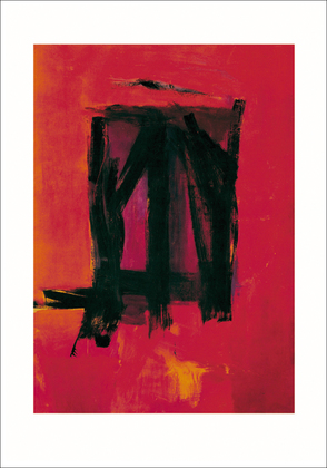 Franz Kline Red painting, 1961