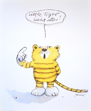 Janosch little Tiger