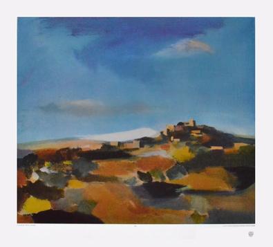 Werner Lichtner-Aix Landschaft (Eygaliere)