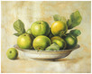 Fabrice de Villeneuve Green Apples in Bowl