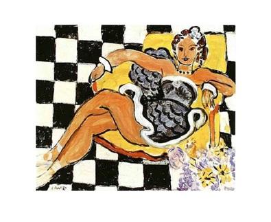 Henri Matisse Danseuse Dans le Fauteuil 1942