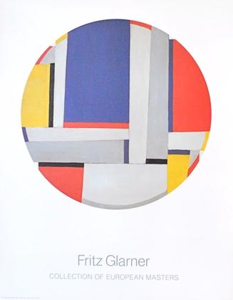 Fritz Glarner Relational Painting, Tondo Nr. 43