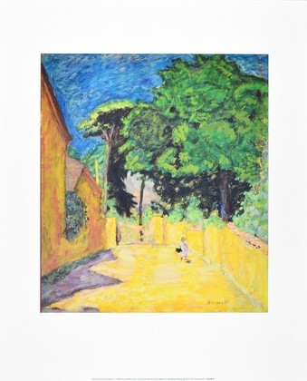 Pierre Bonnard Weg in Vernonnet
