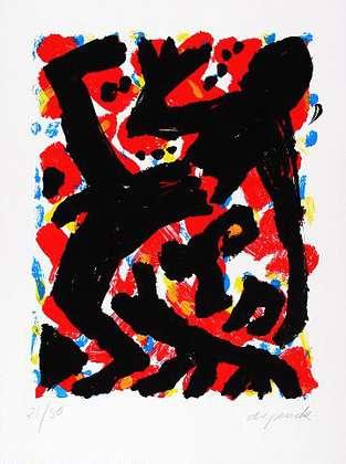 A.R. Penck Dresden 1992 Blatt 2