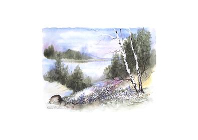 Karin Andersen Landschaft Nr. 14
