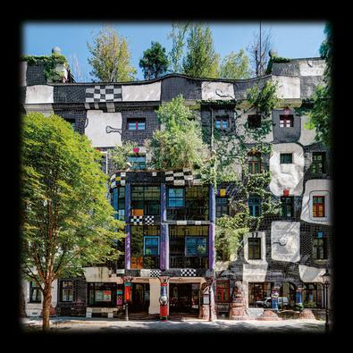 Friedensreich Hundertwasser Kunsthaus Wien