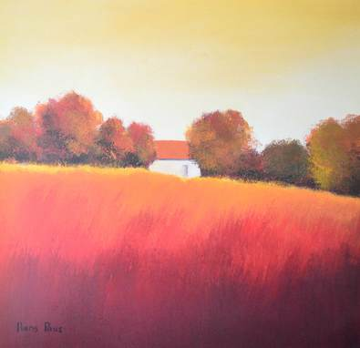 Hans Paus Scarlet Landscape IV