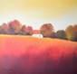 Paus hans scarlet landscape iv medium