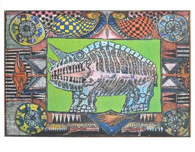 Joerg Schulthess Der Traum vom Nashorn