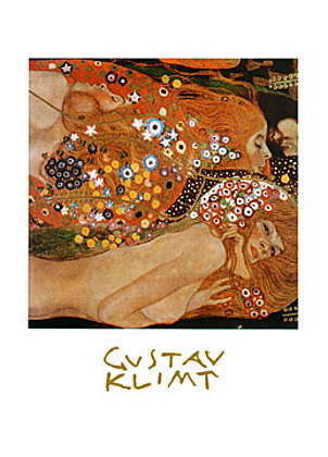 Gustav Klimt Acqua Mossa
