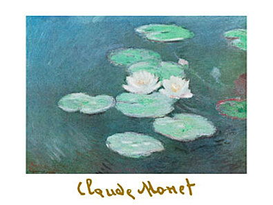 Claude Monet Ninfee nella luce