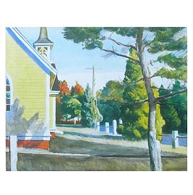 Edward Hopper Kirche in Eastham