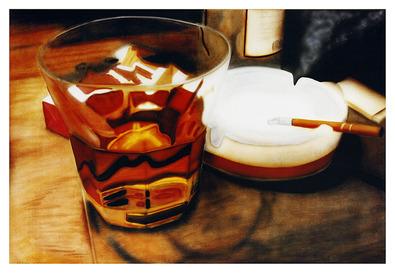Joe Johannsen Flames in Whiskey