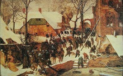 Pieter Brueghel Die Anbetung der Koenige