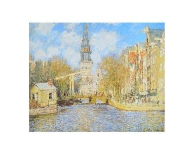 Claude Monet Groenburgwal und die Suedkirche