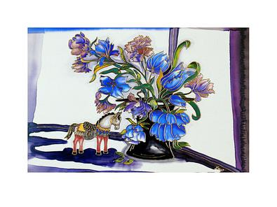 Annemarie Loew 2er Set 'Zirkuszauber' + 'Zeit fuer Blumen'