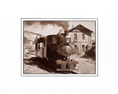 Mark Roth Mountain Locomotive