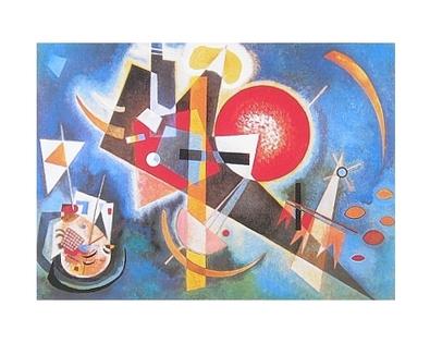 Wassily Kandinsky Im Blau, 1925