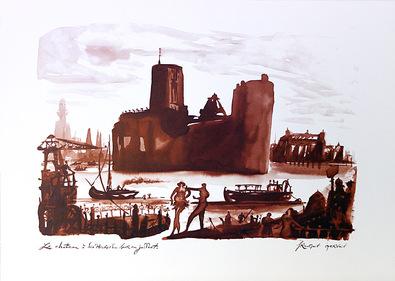 Francois Gervais Le Chateau a Dix Heures