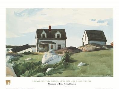 Edward Hopper Haeuser von Squam Light, Gloucester