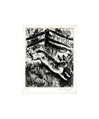Marc Chagall Der Hase u.die Froesche
