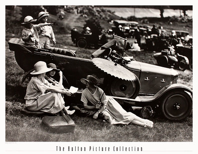 The Hulton Picture Collection Brooklands Picnic, 1922