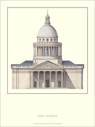 Jaques-Germain Soufflot Paris, Pantheon