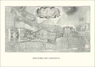 Johann David Schleuen Der Park von Sanssouci
