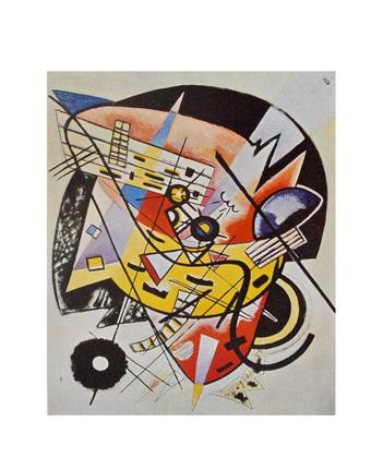 Wassily Kandinsky Der weisse Punkt