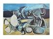 Picasso pablo chat et crabe sur la plage 1411965 medium