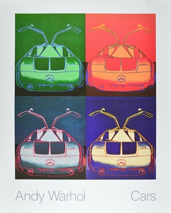 Andy Warhol Cars Mercedes Benz C 111 Prototyp, Bj. 1970