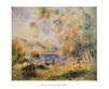 Pierre Auguste Renoir Die Umgebung von Cagnes