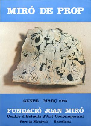 Joan Miro Miró de Prop -1985