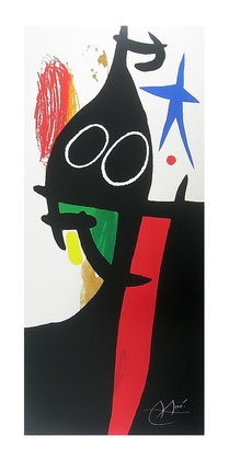 Joan Miro Le Sarrasin a l etoile