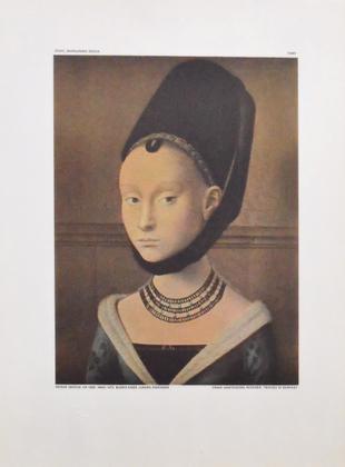 Petrus Cristus Bildnis eines jungen Maedchens